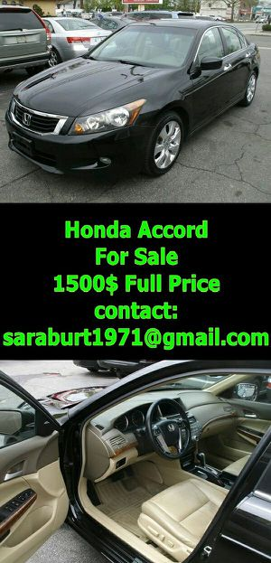2008 Honda Accord EXL-V6 First Owner for Sale in Brooklyn, NY