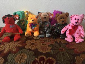 Ty beanie baby bears for Sale in Buckeye, AZ