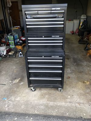 Craftsman tools box use for Sale in Allentown, PA