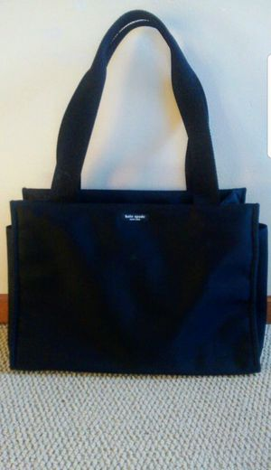Kate Spade black baby diaper bag - brand new without tags (never used, doesn't include changing pad) Brand new simple black diaper bag for Sale in Renton, WA