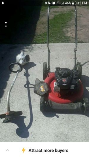 Stihl weedeater and lawn mower for Sale in Orange Cove, CA