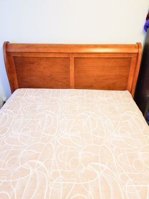 Solid Wood Bed Frame for Sale in Alexandria, VA