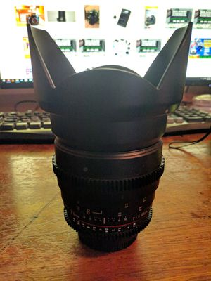 24mm F1.4 Rokinon Cine lens (Nikon) for Sale in Vancouver, WA
