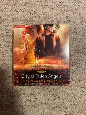 The Mortal Instruments Book 4 City of Fallen Angels AUDIOBOOK for Sale in Burlington, CT
