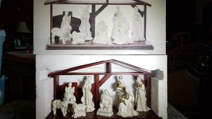 Mikasa Christmas Holiday Elegance Large Nativity Set FK001/931 for Sale in Southwest Ranches, FL