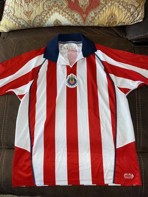 Chivas jersey jvc size is medium with bofo name and number for Sale in Perris, CA