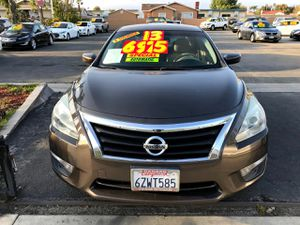 2013 Nissan Altima S> 4 CYLINDER> LOW MILES> ⚠️EVERYTHING ON SPECIAL⚠️ EASY FINANCING⚠️ for Sale in Bloomington, CA