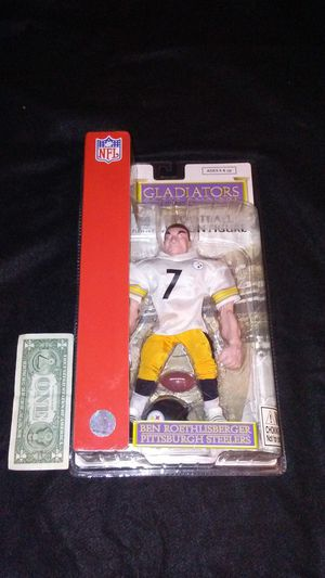 Pittsburgh Steelers Ben Roethlisberger Gladiators of the Gridiron NFL action figure for Sale in Cleveland, OH