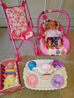 Little girls playset for Sale in Palm Harbor, FL