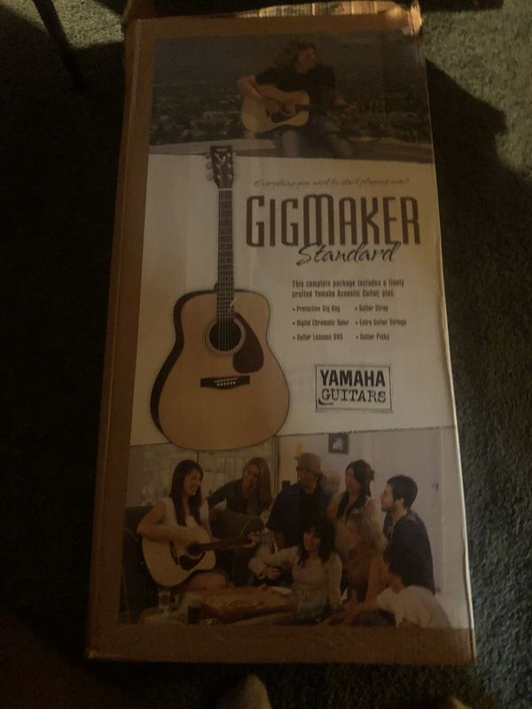 Gigmaker yahama guitar for sale !