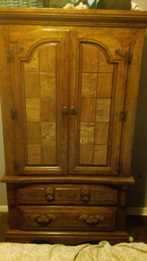 Oak Armoire for Sale in Columbus, OH
