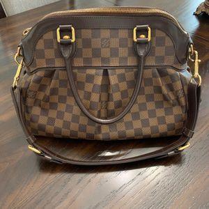 Louis Vuitton Damier Ebene canvas leather trevi GM shoulder bag for Sale in Farmington Hills, MI