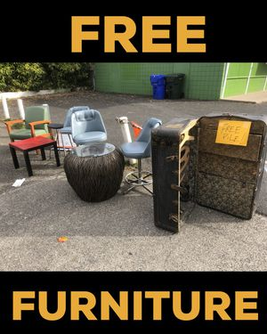 Free furniture! Until 3 PM today for Sale in Portland, OR