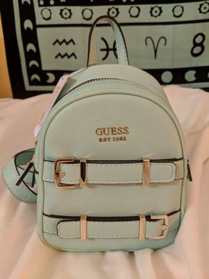 Guess Designer Turquoise Jori Mini Backpack NEW w/ Tags for Sale in Manassas, VA