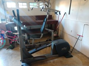 Elliptical and full body cable workout system for Sale in King City, OR