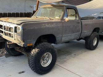 First Gen Cummins Truck Body with Title for Sale in La Mesa,  CA