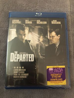 The Departed Blu-ray Still Sealed for Sale in Tampa, FL