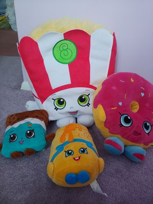 Shopkins stuffed friends-MEET LOCAL ONLY for Sale in Philadelphia, PA