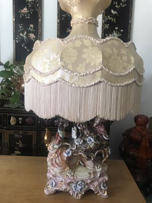Capodimonte lamp for Sale in Rancho Cucamonga, CA