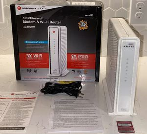 SURFboard® Cable Modem & Wi-Fi® Router - Model: SBG6782-AC for Sale in Austin, TX