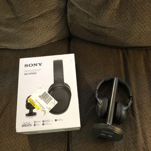 Sony WH-RF400 Wireless Headphone System for Sale in Spring Valley, CA