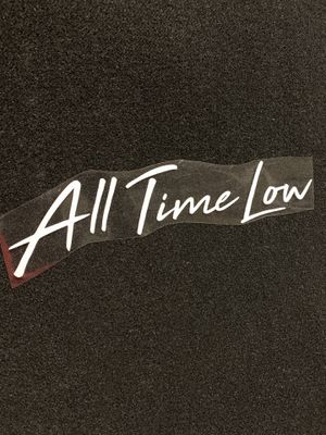 All Time Low Decal for Sale in San Bernardino, CA