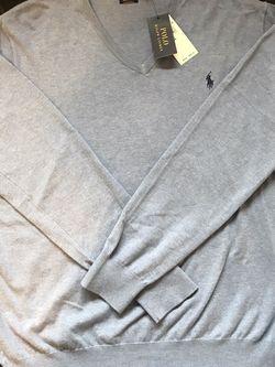 Ralph Lauren Polo Pima V Neck Men's Sweater Size XL BLUE Dallas Cowboys Colorway for Sale in Dallas,  TX