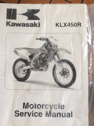 Kawasaki motorcycle manual for Sale in West Islip, NY