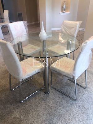 Brand new white dining set for Sale in Houston, TX