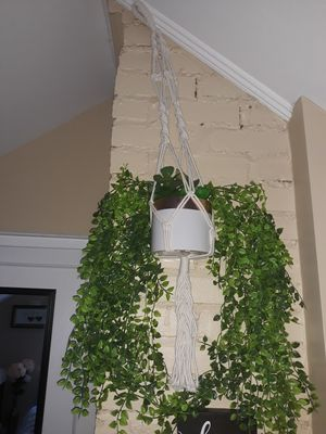 Rope plant hanger for Sale in Stamford, CT