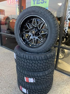 Wheel AND Tire Packages On Sale ! $0 Down , Payment Options 6FVW for Sale in Irving, TX