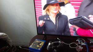 PS4 AND 40 INCH SMART TV $400 OBO for Sale in Burlington, NJ