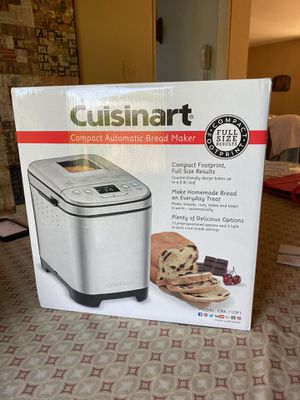 Cuisinart 2lb loaf automatic bread maker for Sale in Chalfont, PA