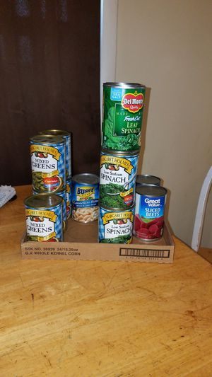 Free can goods for Sale in Avella, PA