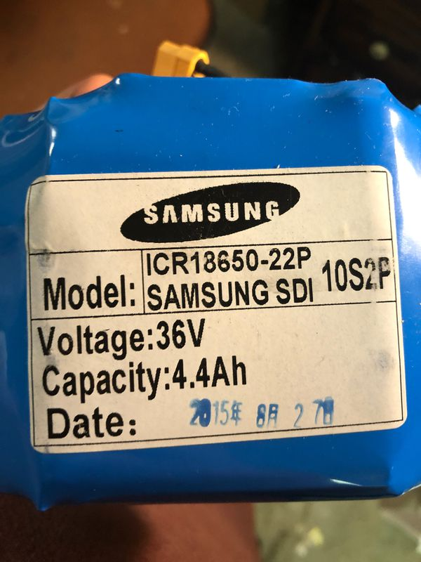 Samsung battery for hover board