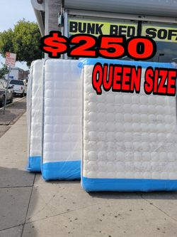 BRAND NEW QUEEN MATTRESS 📢👸✨IN STOCK 📢✨SAME DAY DELIVER OR PICK UP 📢 for Sale in Carson,  CA
