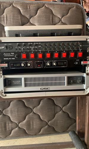DJ equipment - Amp, light control for Sale in Oak Lawn, IL