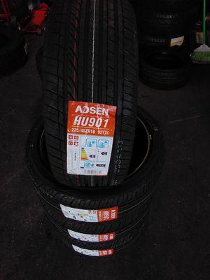 Aosen 225/40/18 for Sale in Baldwin Park, CA