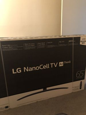 LG Nano Cell TV 2019 65SM90 for Sale in Dundalk, MD