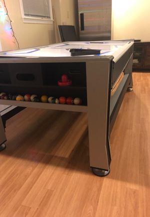 3in1 pool air hockey ping pong table for Sale in McLean, VA