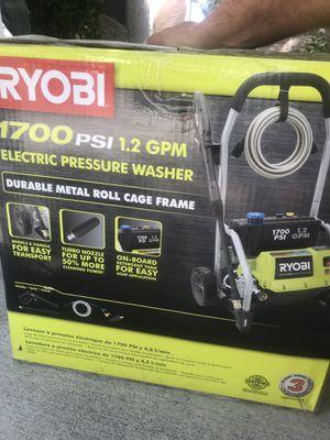 RYOBI 1,700 PSI 1.2 GPM Electric Pressure Washer for Sale in Las Vegas, NV