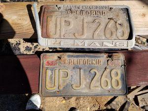 1963 California Black License Plates for Sale in Lakeside, CA