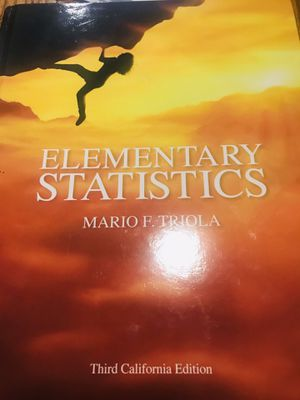 Elementary Statistics for Sale in Pomona, CA