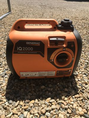 Generac iq2000 Generator for Sale in Clovis, CA