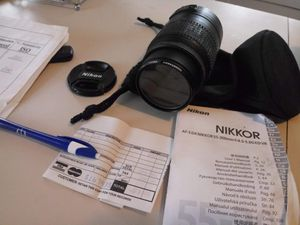 Nikon DX as-f Nikkor 55-300mm lense for Sale in Columbia, SC