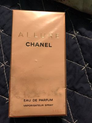 Brand New Chanel Allure 3.4oz Perfume for Sale in Queens, NY
