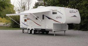 2006 Jayco Jay Flight Fifth Wheel 30.5 Bunk House Sleeps 8 for Sale in Kirkland, WA