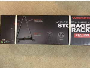 Weight Plate and Barbell Stand for Sale in Cumming, GA