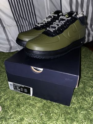 Nike Lunar Force 1 Duckboot Low Olive Mens Size 12 for Sale in Chicago, IL