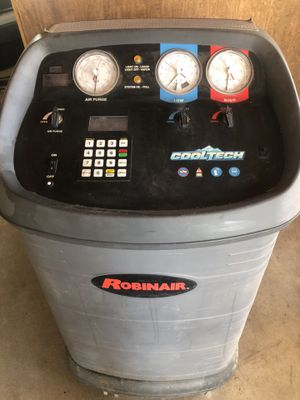 Robinair cool tech 17800b ac Freon recycling machine for Sale in Victorville, CA